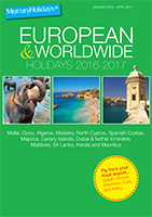 Online Brochure: Worldwide Holidays 2016