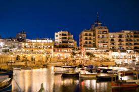 An evening out in Malta