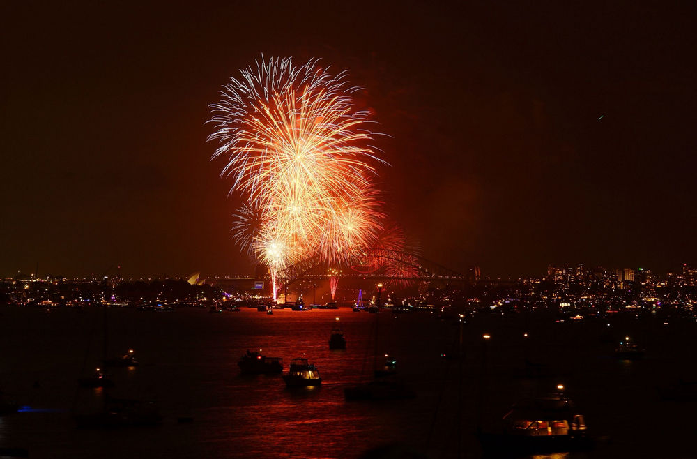 See in the New Year in Sydney
