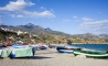 Boats on Nerja beach