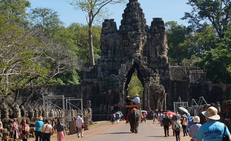"""Angkor Wat Entrance"""