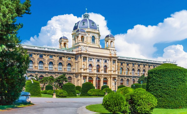 """Kunsthistorisches Museum In The Old Town In Vienna"""