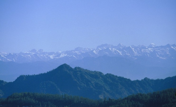 """Himalaya Mountain View From Shimla"""