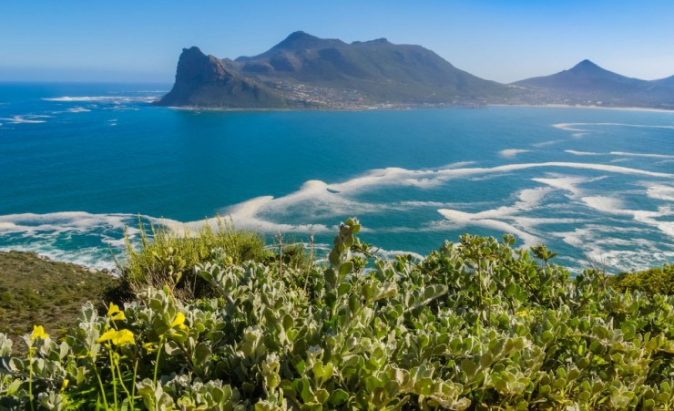 """Hout Bay From Chapmans Peak Drive"""