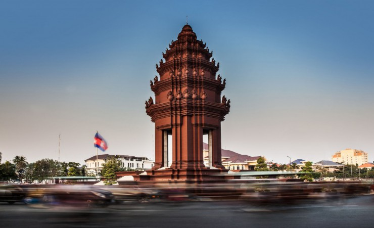 """Independence Monument Phnom Penh"""
