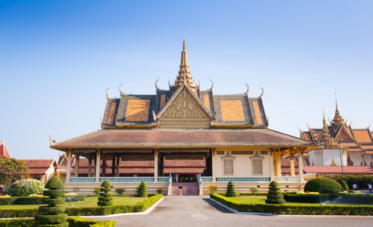 """Royal Palace In Phnom Penh"""