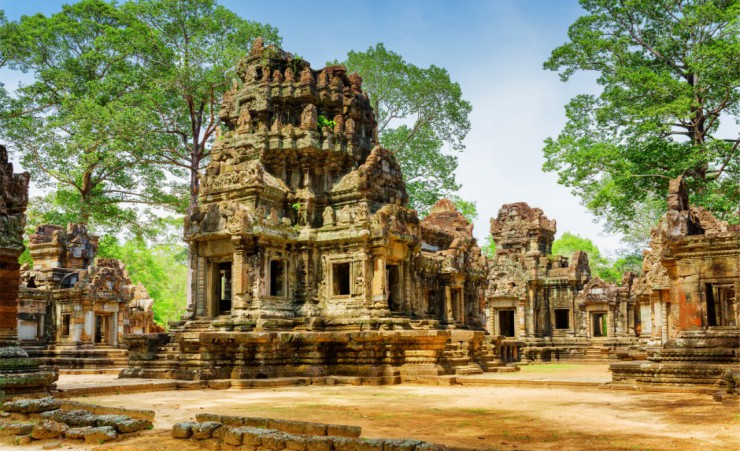 """Thommanon Temple In Angkor"""