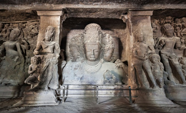 """Elephanta Island Caves Near Mumbai"""