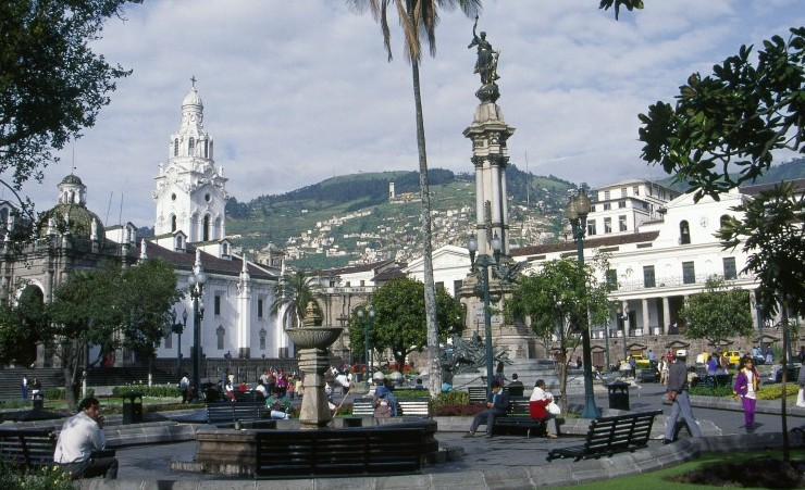 """Independence Square, Quito"""