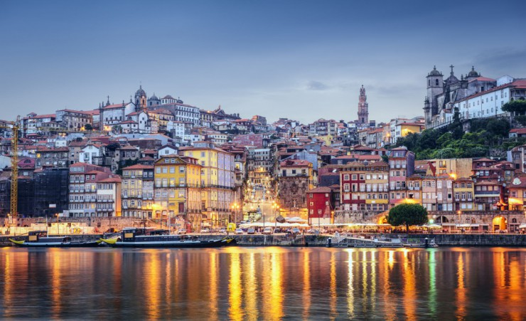"""Porto In The Evening"""