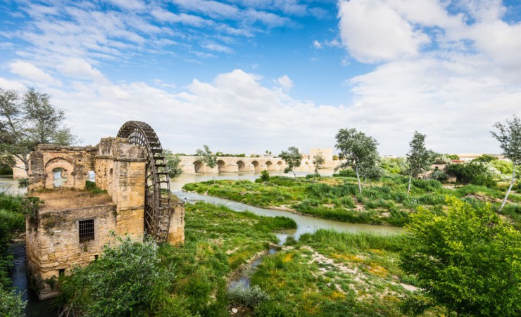 """Ancient Water Mill Albolafia In Cordoba"""