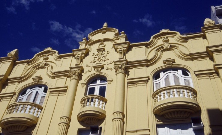 """Colonial style buildings in Arequipa"""
