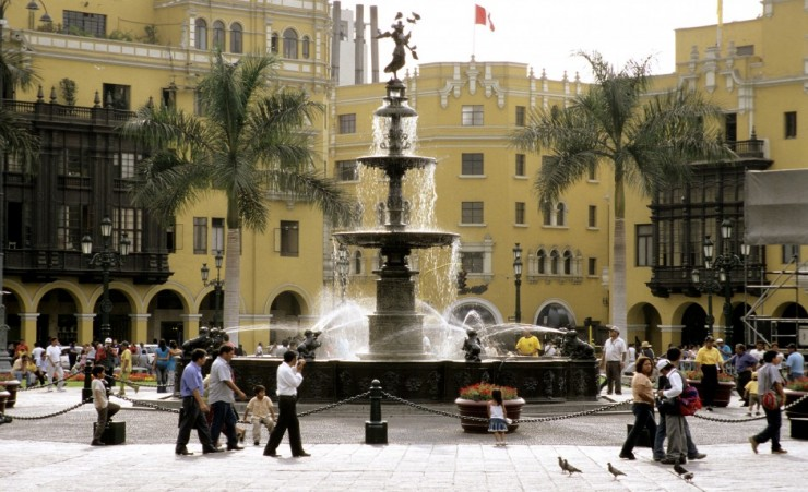 """Plaza Mayor, Lima"""