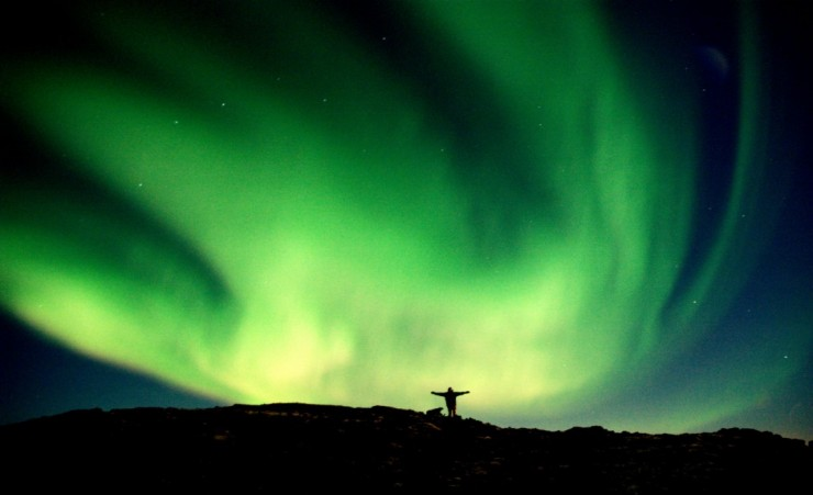 """Touching The Aurora Borealis"""