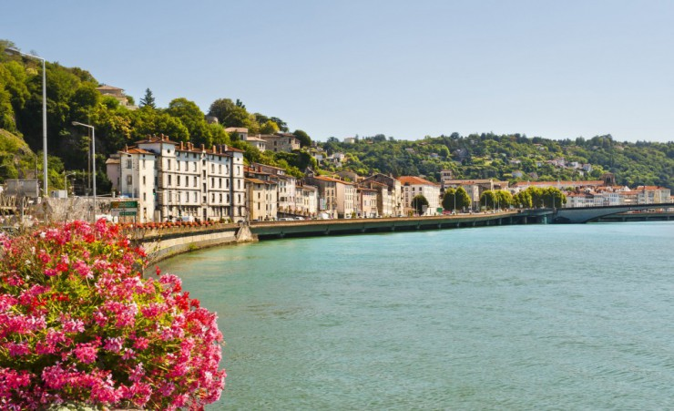"""Vienne On The Bank Of The Rhone River"""