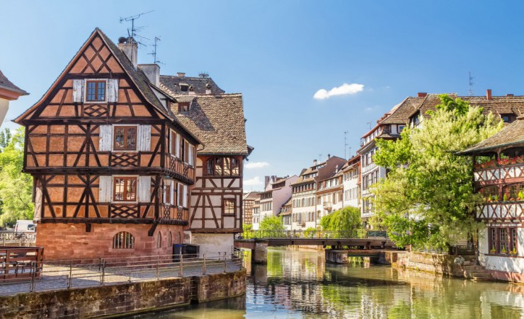 """Petite France District, Strasbourg"""