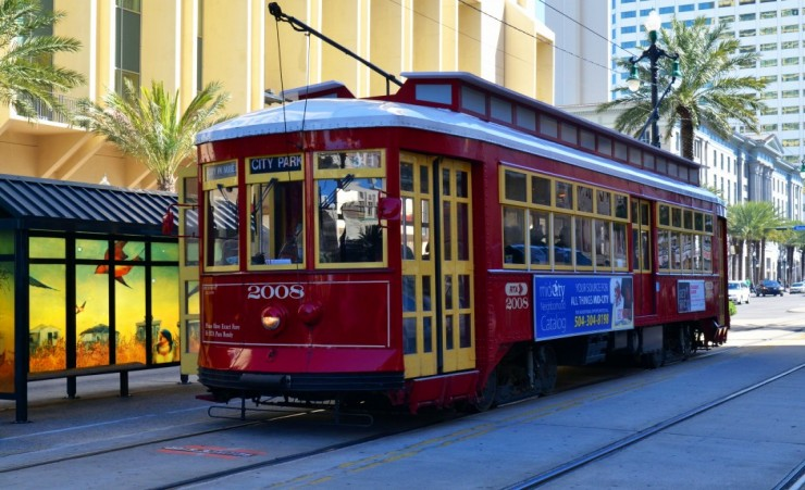 """Canal Streetcar  Line  New Orleans"""