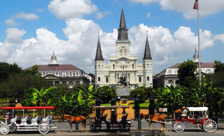 """Jackson Square New Orleans"""