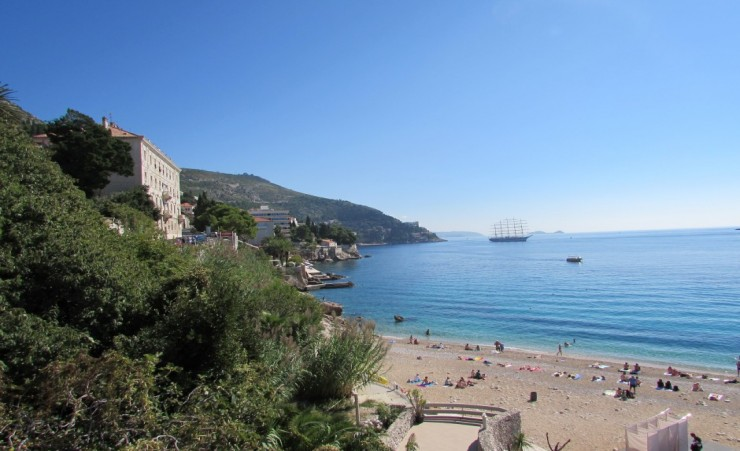 """Dubrovnik Beach Area"""
