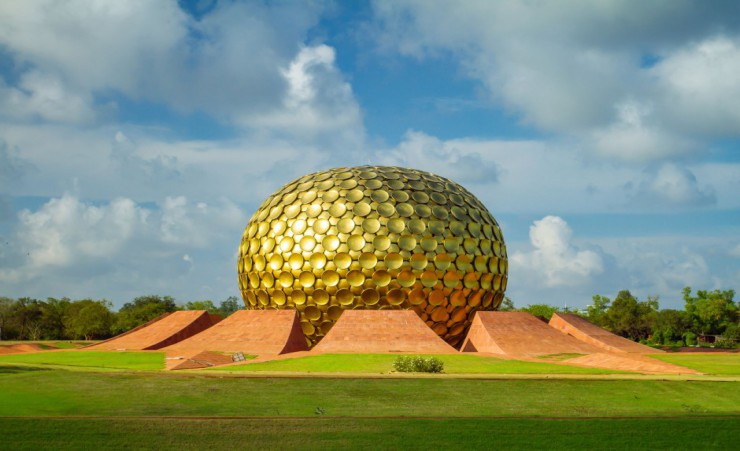 """Auroville   Pondicherry"""