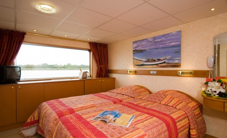 """Cabin On The Princess Aquitaine"""