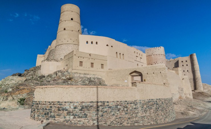 """Bahla Fort Exterior"""