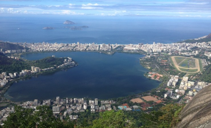 """View from Christ the Redeemer"""