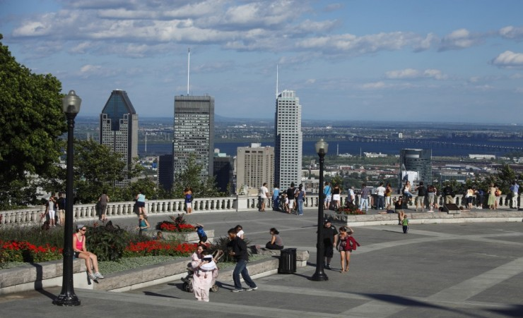 """Mount Royal Belvedere Montreal"""