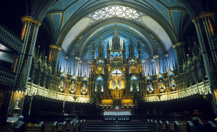"""Notre Dame Interior Montreal"""