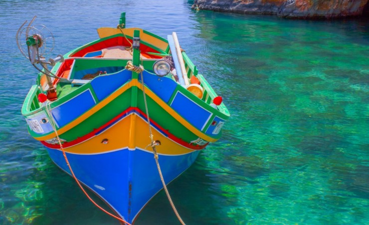 """Maltese Fishing Boat"""