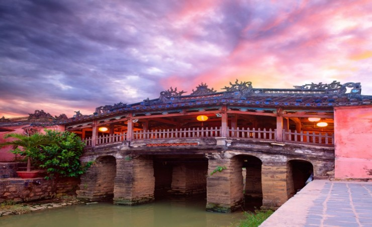 """Japanese Bridge In Hoi An"""