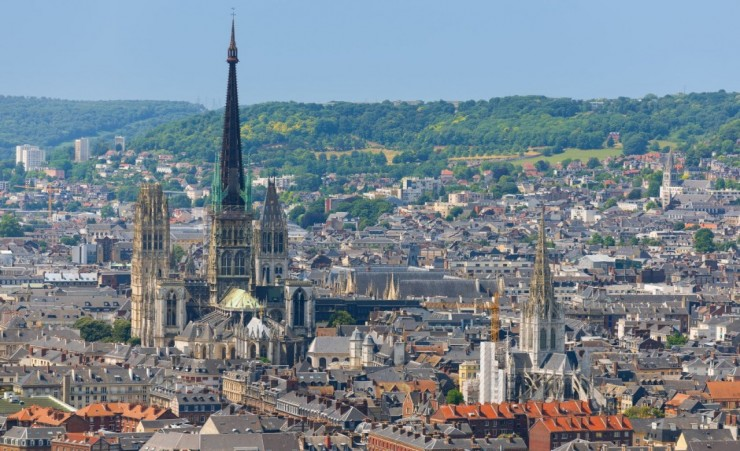 """Cathedral In Rouen"""