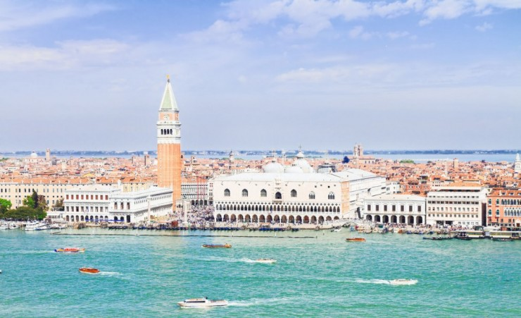 """San Marco Square Waterfront Venice"""