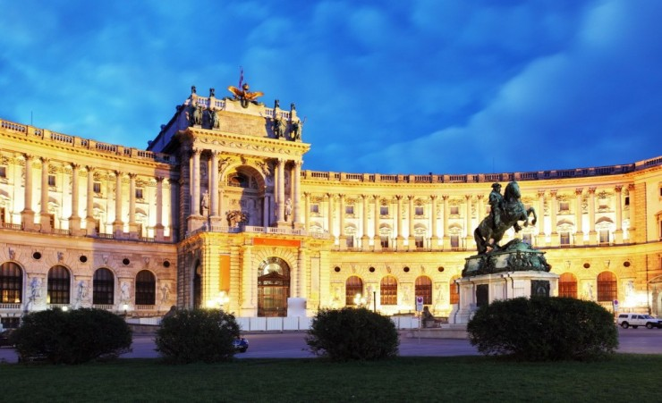 """Hofburg Imperial Palace Vienna"""