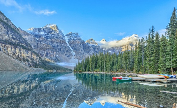 """Moraine Lake Banff"""