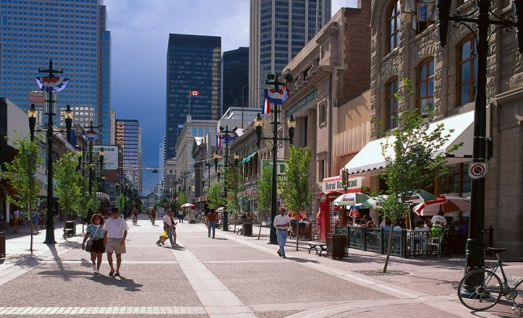 """Stephen Ave Mall Calgary"""