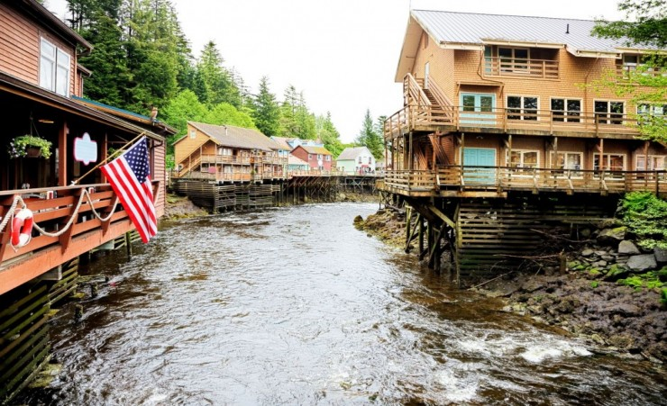 """Creek Street Ketchikan Alaska"""