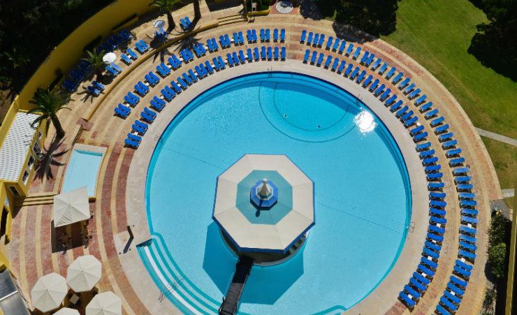 Aerial of Swimming Pool