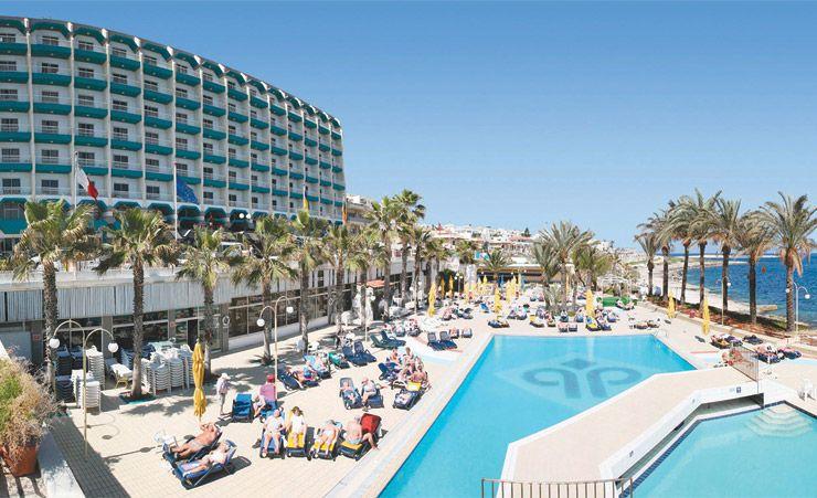 Qawra Palace Hotel - Qawra Hotels in Malta   Mercury Holidays Ireland