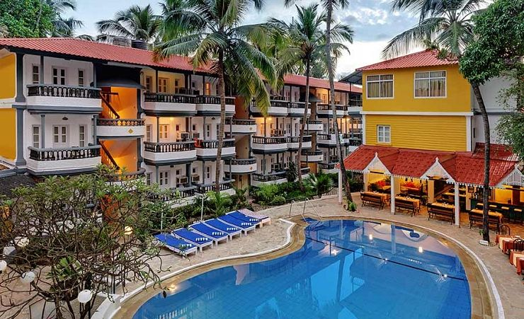 Santiago Beach Resort North Goa Hotels In Goa Mercury
