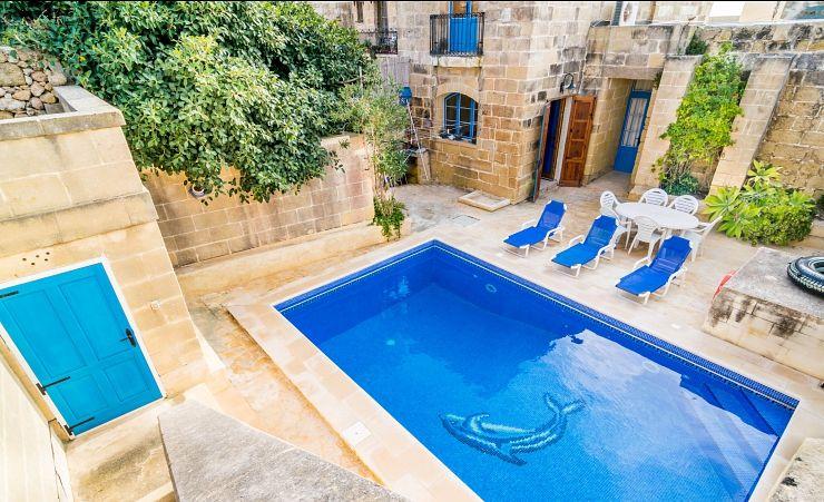 Dar Id Dragun Farmhouse With Private Pool San Lawrenz Hotels In Gozo Mercury Holidays Ireland