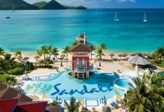 Sandals Grande St Lucia Spa and Beach Resort