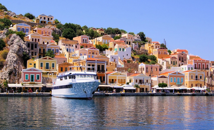 """Harbour At Symi"""