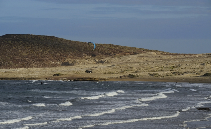 """Paragliging On El Medano Beach"""