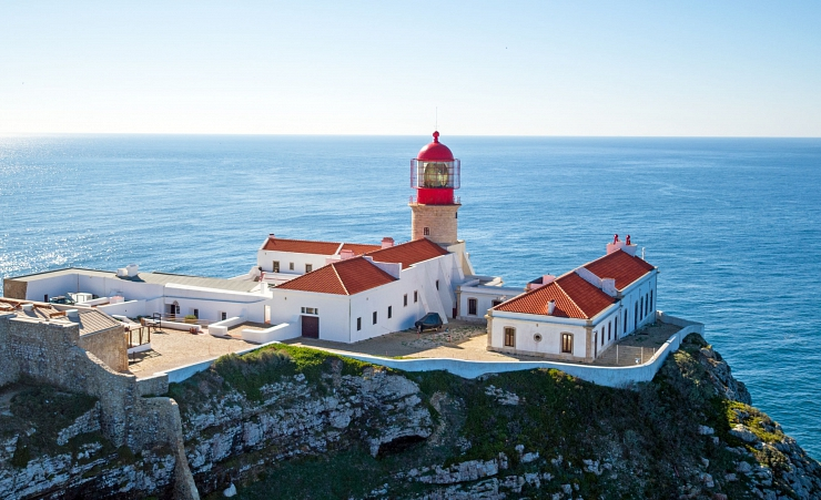 """Cape Saint Vincent Lighthouse"""